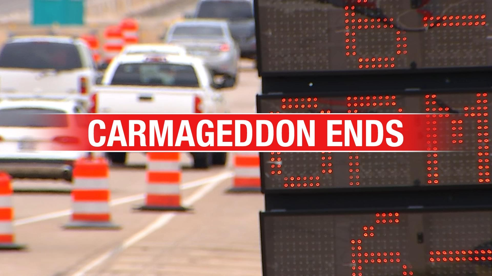 Carmageddon Ends With Reopening Of I-235 South Of I-44