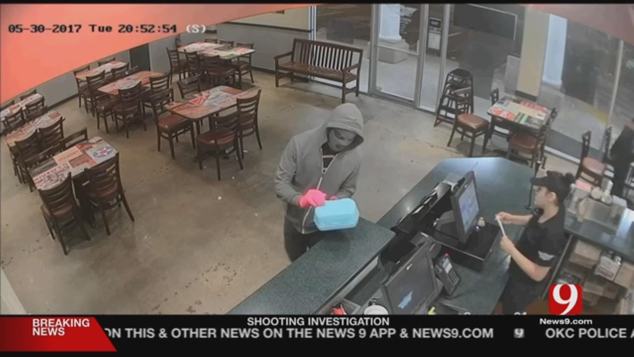 Pink Gloves, Kid's Lunch Box Used To Rob South OKC Store