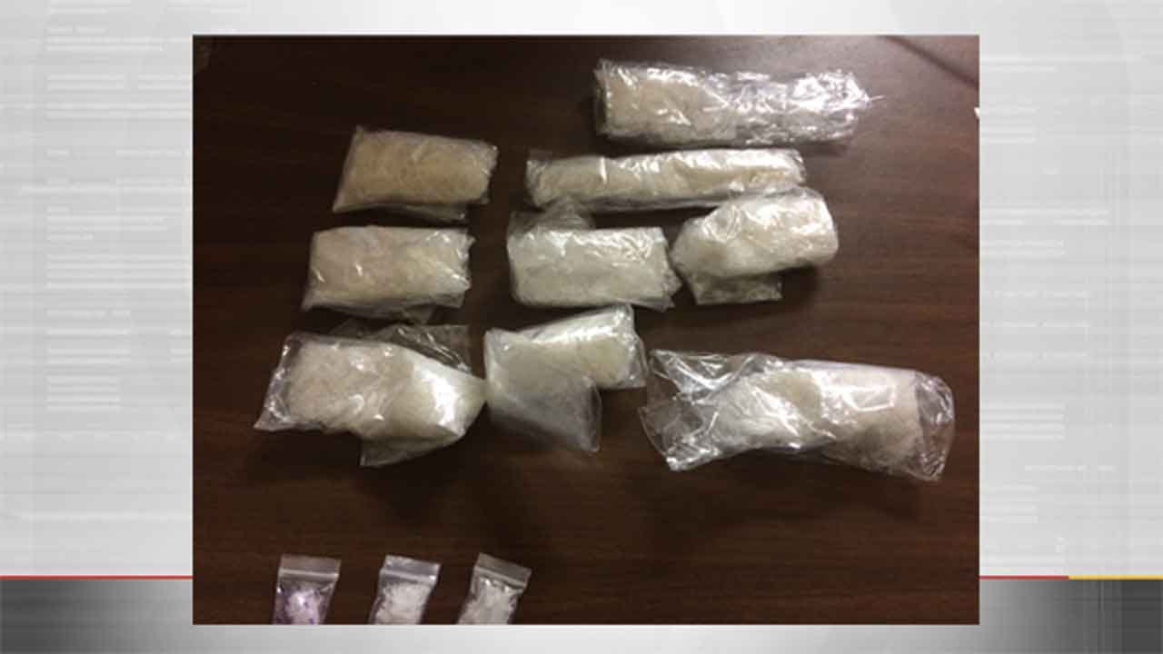 Meth, Money, Stolen Property Recovered In Anadarko Investigation