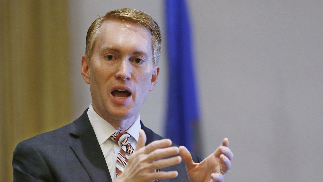 Lankford Prepares For Comey Testimony Today
