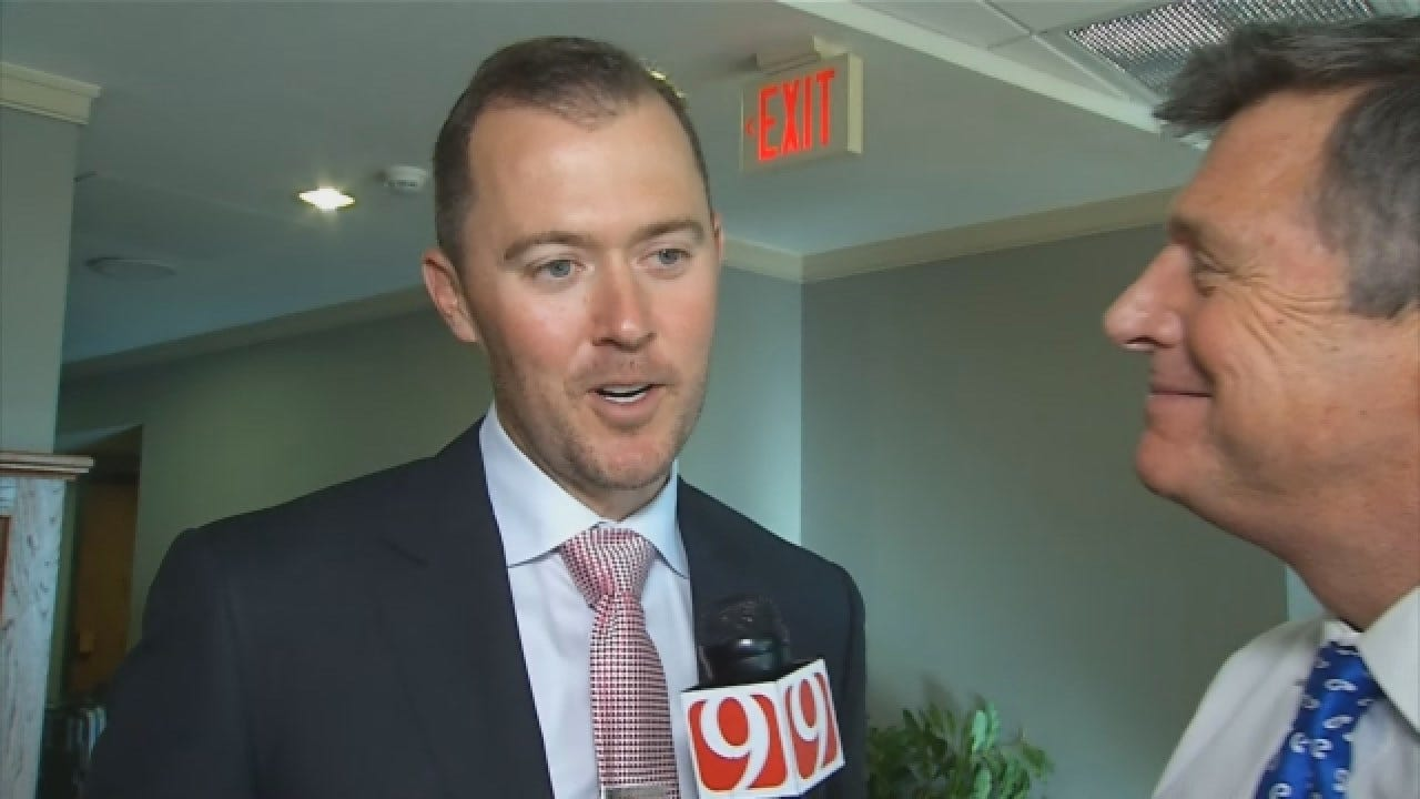 WATCH: Dean Chats With New OU Head Football Coach Lincoln Riley