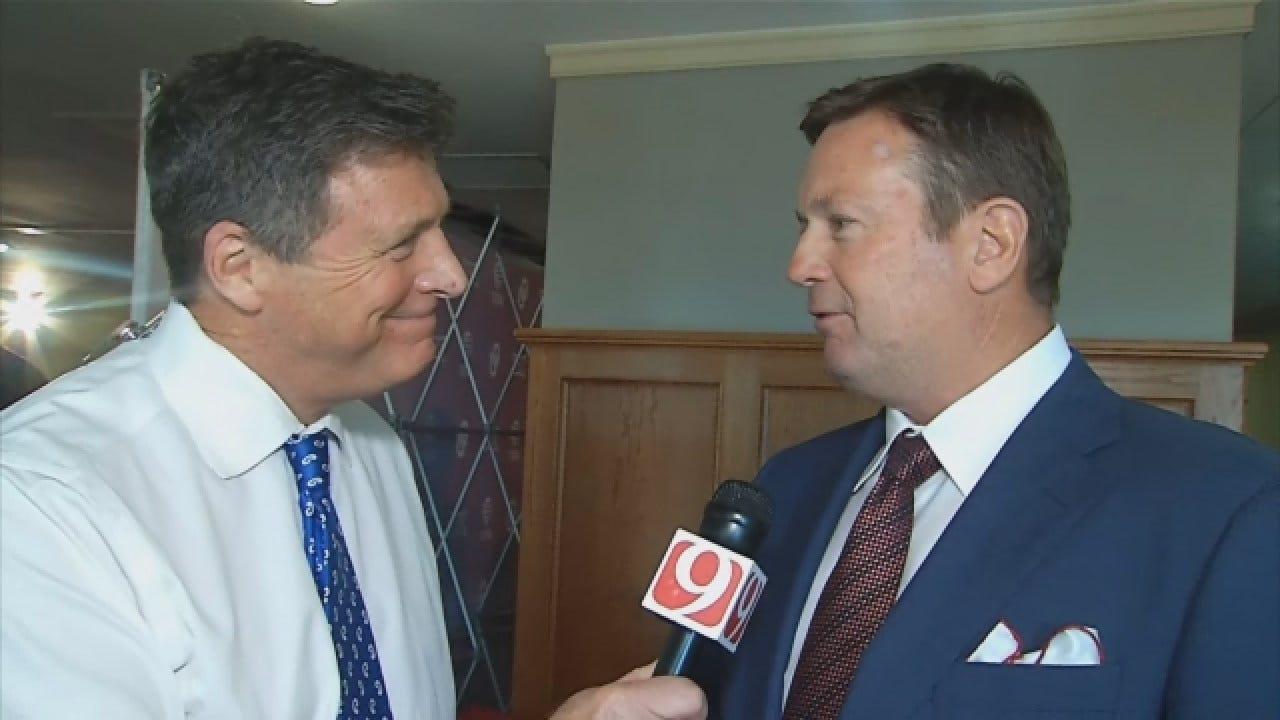 WATCH: Dean Talks With Bob Stoops Following His Decision To Retire