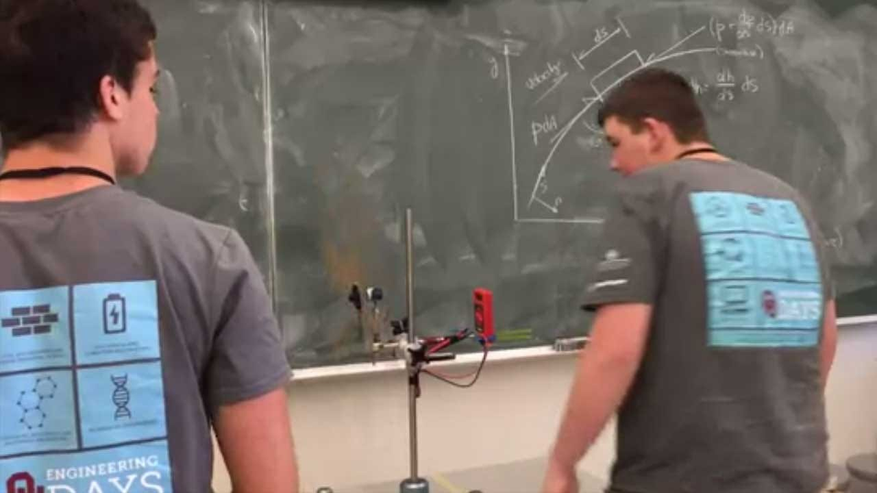 High School Students Get Hands-On Training In Windmill Engineering At OU