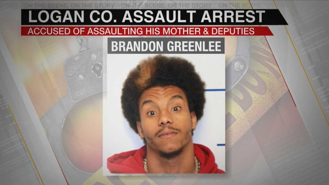 Logan Co. Man Accused Of Assaulting Mom, Threatening Deputies