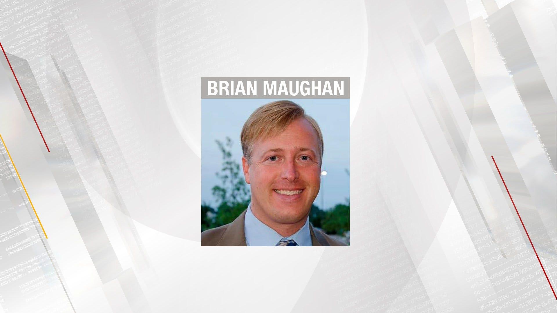 OKC Mayoral Candidate Maughan Hospitalized After Crash
