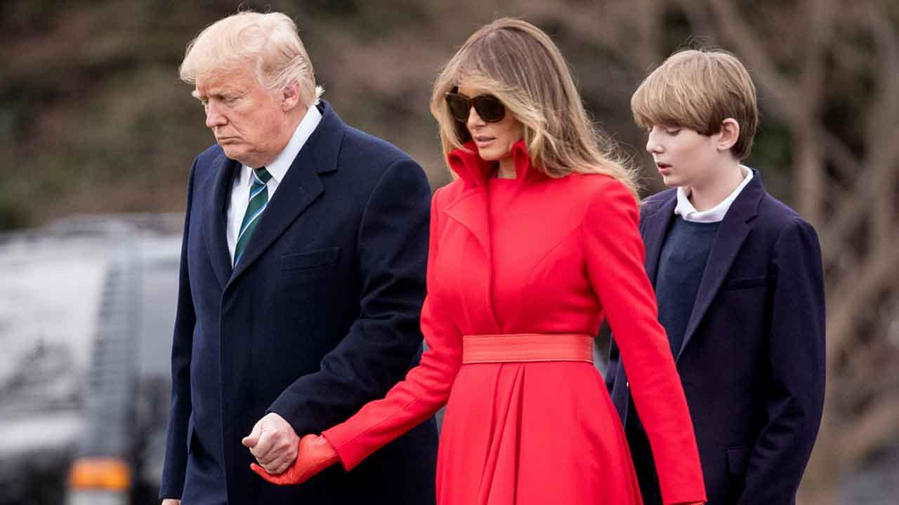 President Trump Says 'Mostly My Family Has Been Suffering' Over Impeachment