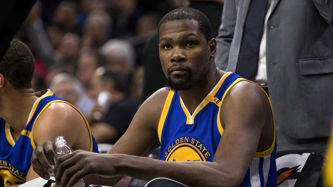 Kevin Durant Out Indefinitely With Sprained MCL, Bone Bruise