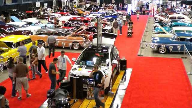 Gearheads Cruise Into Fairgrounds For Auto Show