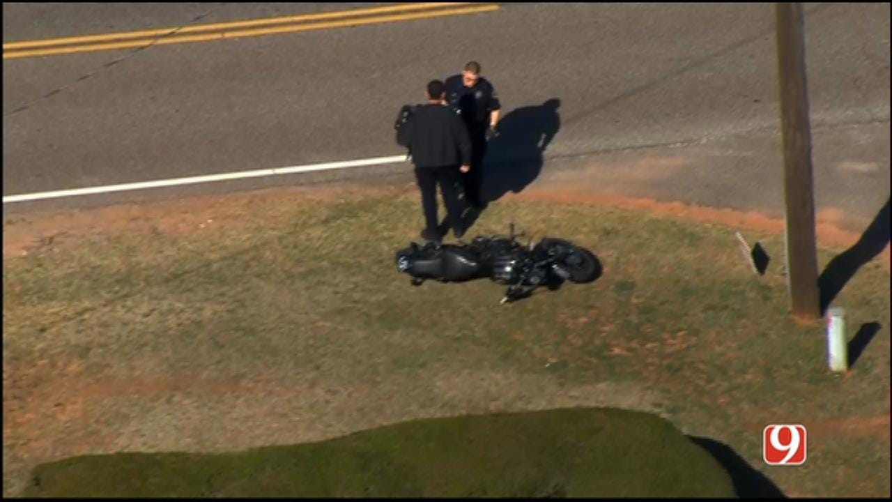 Motorcyclist Arrested After Leading Police On Short Chase