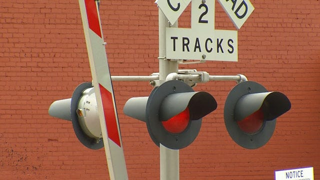 Woman Suffered Serious Injuries When Vehicle Was Hit By Train, Ponca City Police Say