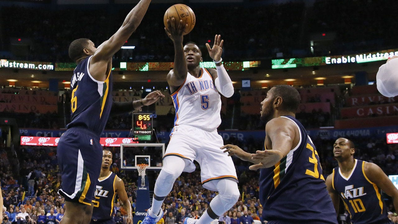 Thunder Holds Off Jazz For Second Consecutive Win