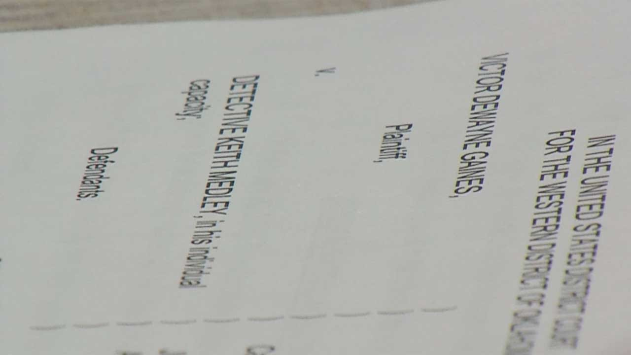 Civil Lawsuit Filed Against Oklahoma City Police Detective