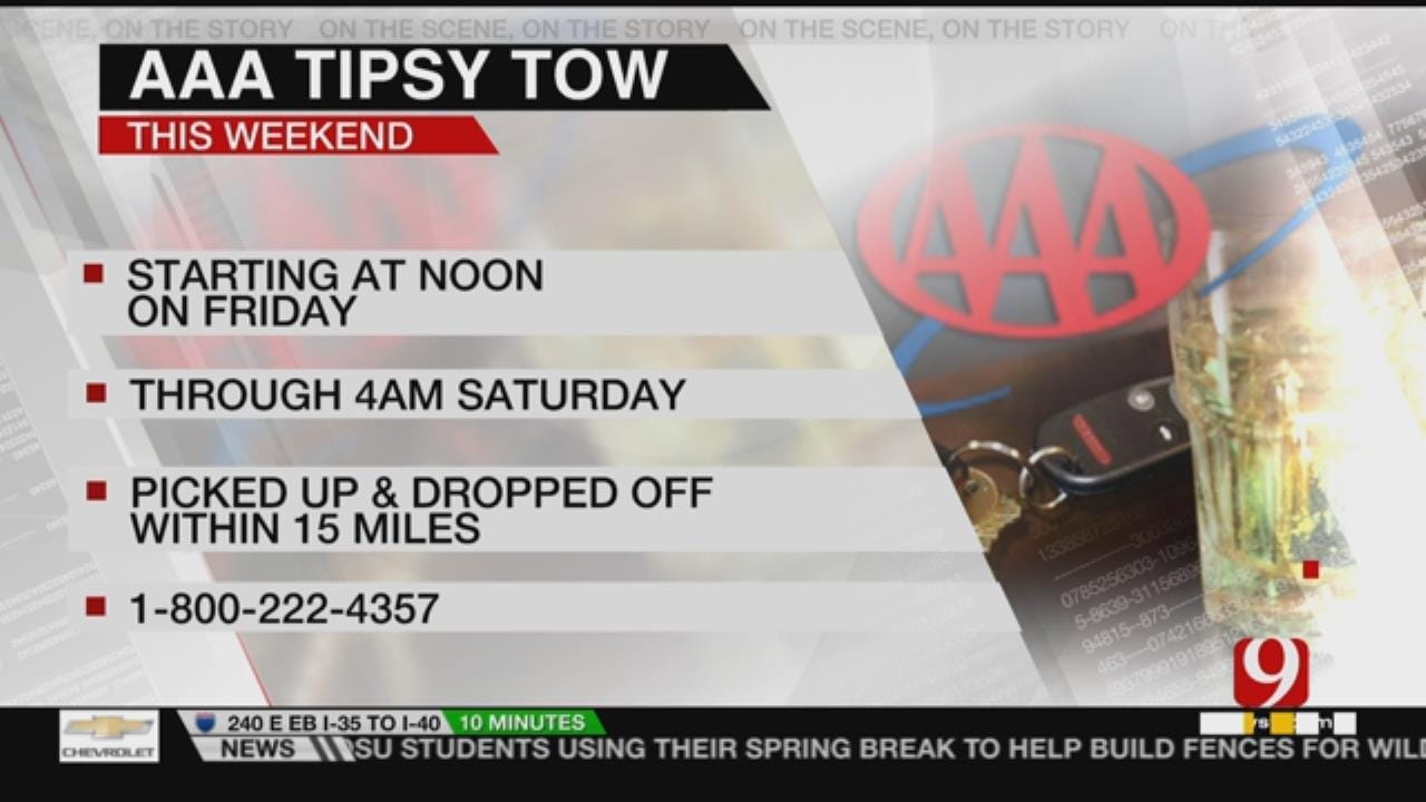 AAA Offering Tipsy Tow For St. Paddy's Day