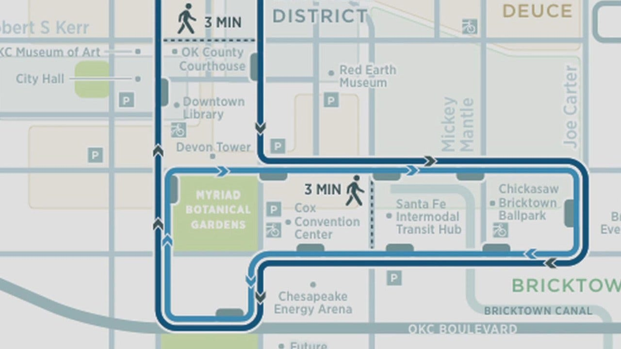 Construction Begins On OKC Streetcar Project