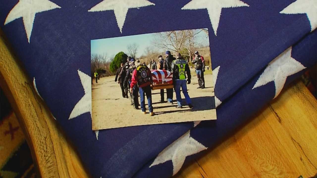 Oklahoma Veterans Volunteer To Render Funeral Honors