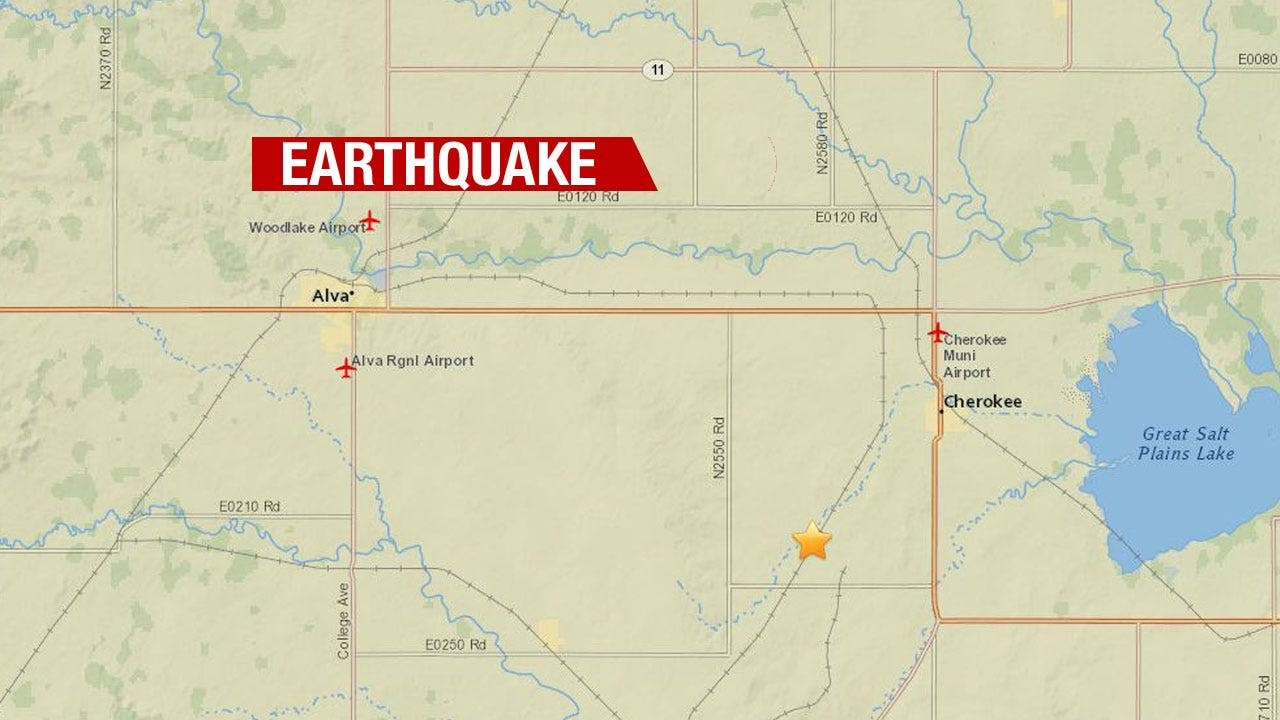 3.4 Magnitude Strikes Near Alva Overnight