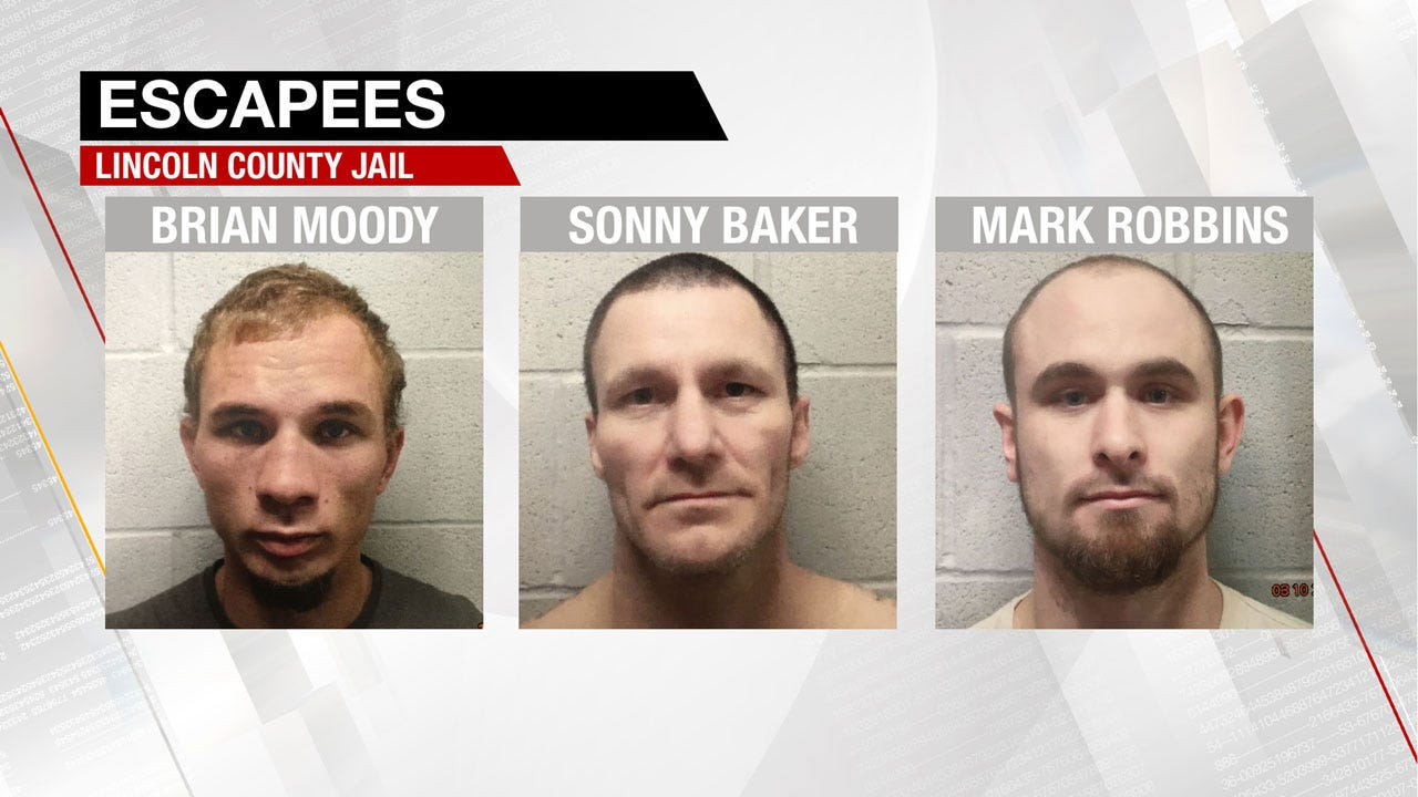 3 Fugitives Sought After Escape From Lincoln County Jail
