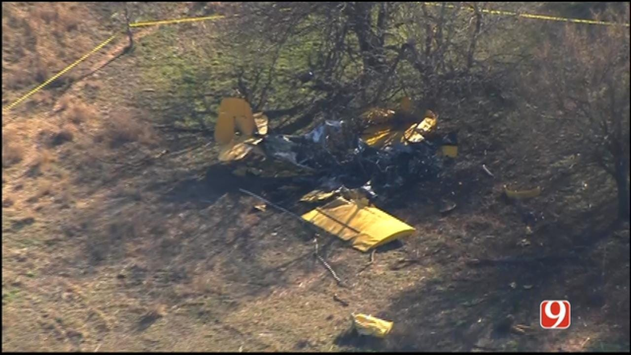 One Injured In Small Plane Crash Near Enid