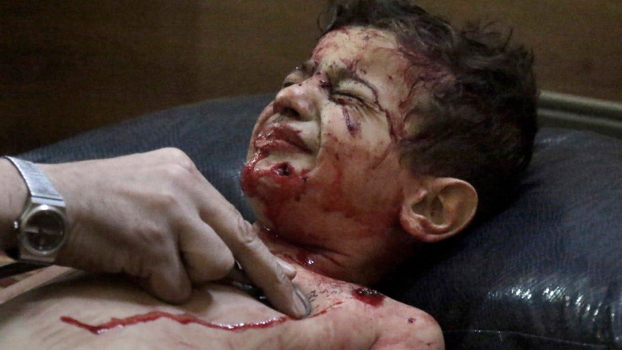 "U.N. Probe Says Syria, Russia Deliberately ""Obliterated"" Civilian Areas"