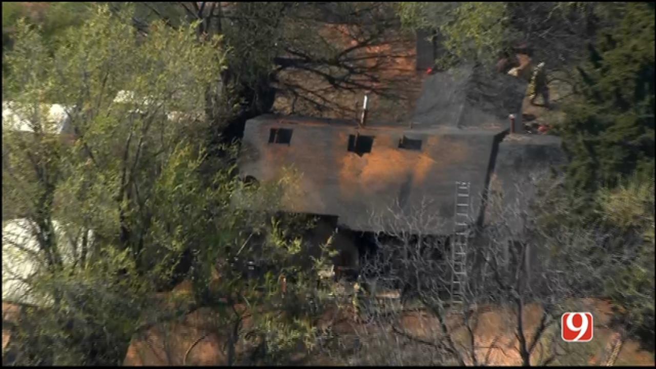 Family Loses Home, Belongings In NE OKC Fire