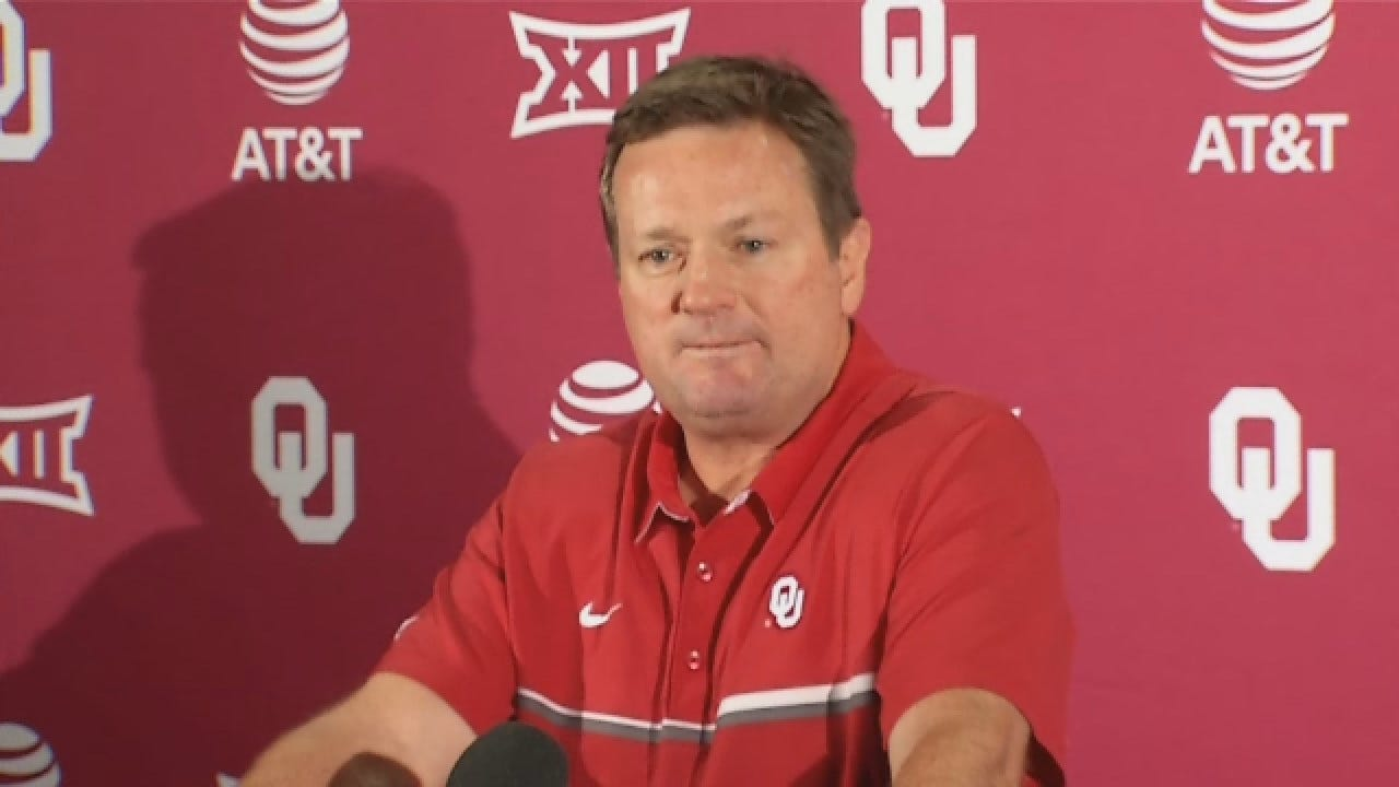 WATCH: Bob Stoops' Spring News Conference