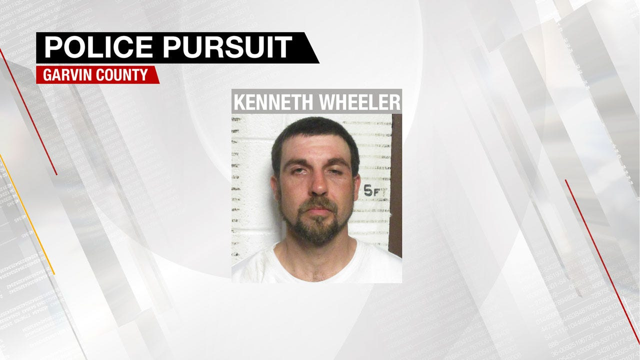 Driver Of Stolen Vehicle Leads Garvin County Deputies On 80 Mile, 70 Minute Pursuit