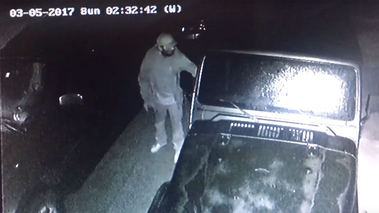 OKC Police Looking For Suspect In Vehicle Burglary