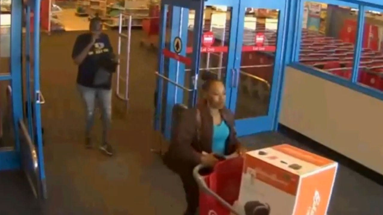Suspects Sought In Theft Of Car Seat From OKC Target