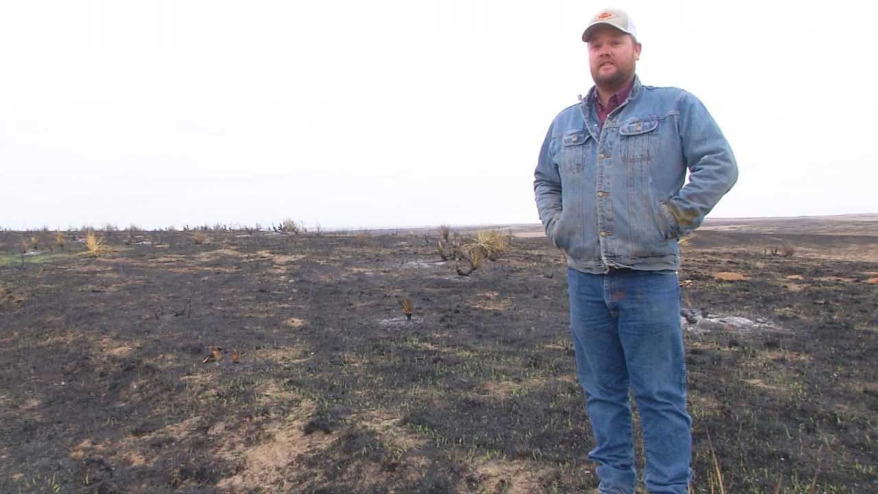 Beaver Co. Firefighter, Farmer Rebuilding After Wildfires