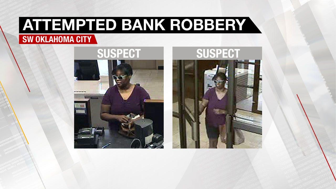 Police Investigating Bank Robbery In SW OKC