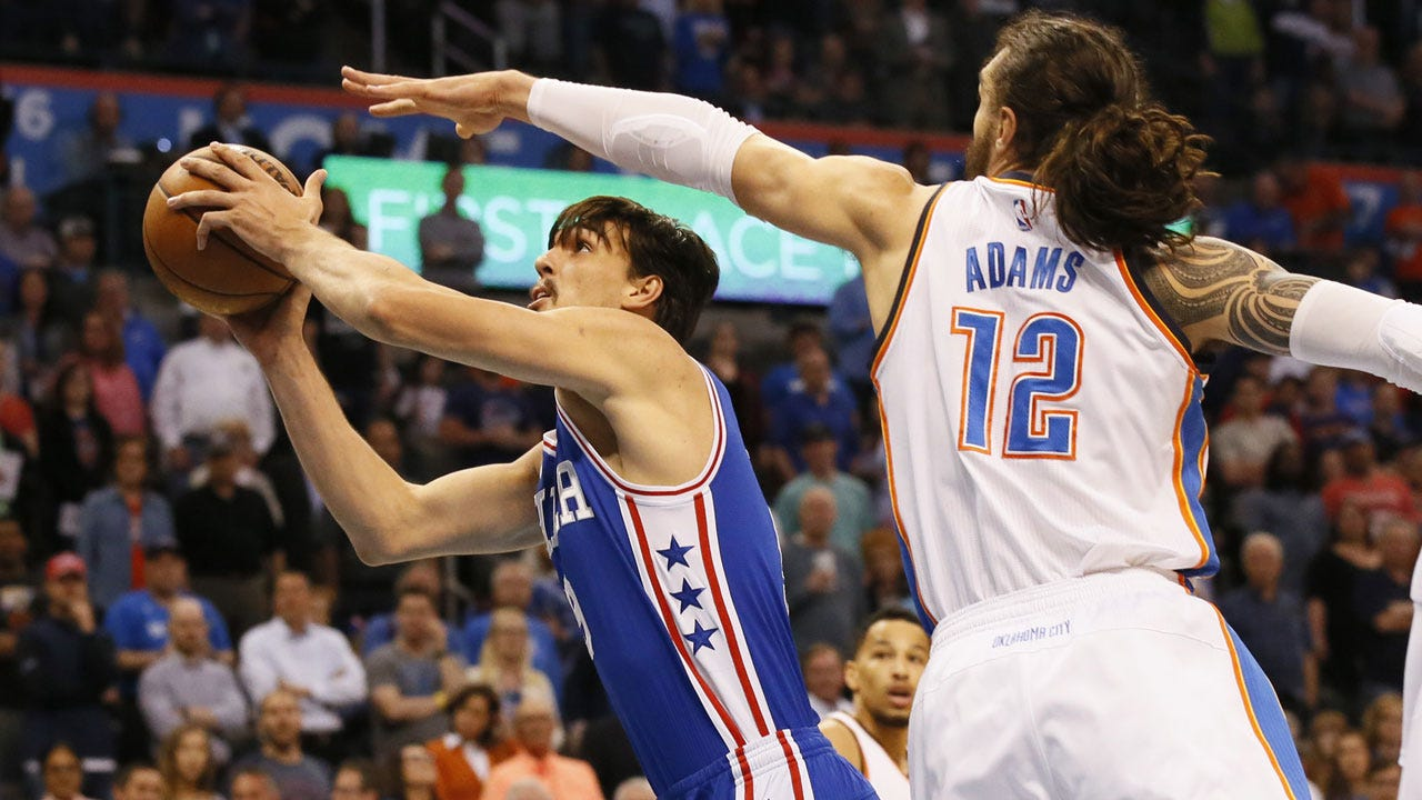 Thunder Bounces Back With Big Win Over Sixers
