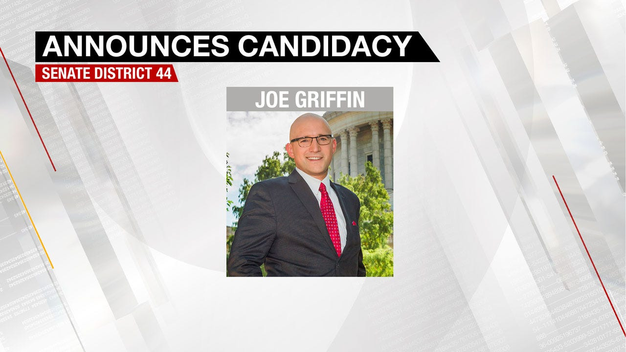 Griffin Announces Bid To Run For Shortey's Vacant Seat