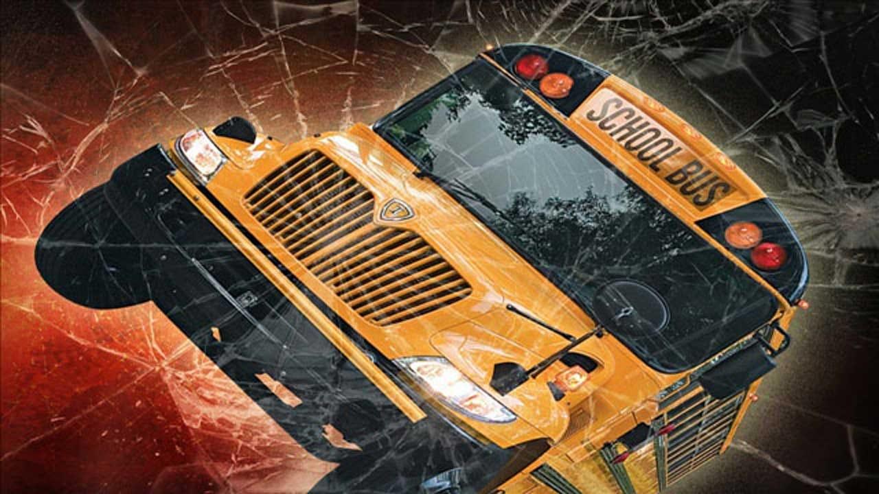 School Bus Crashes In NE OKC