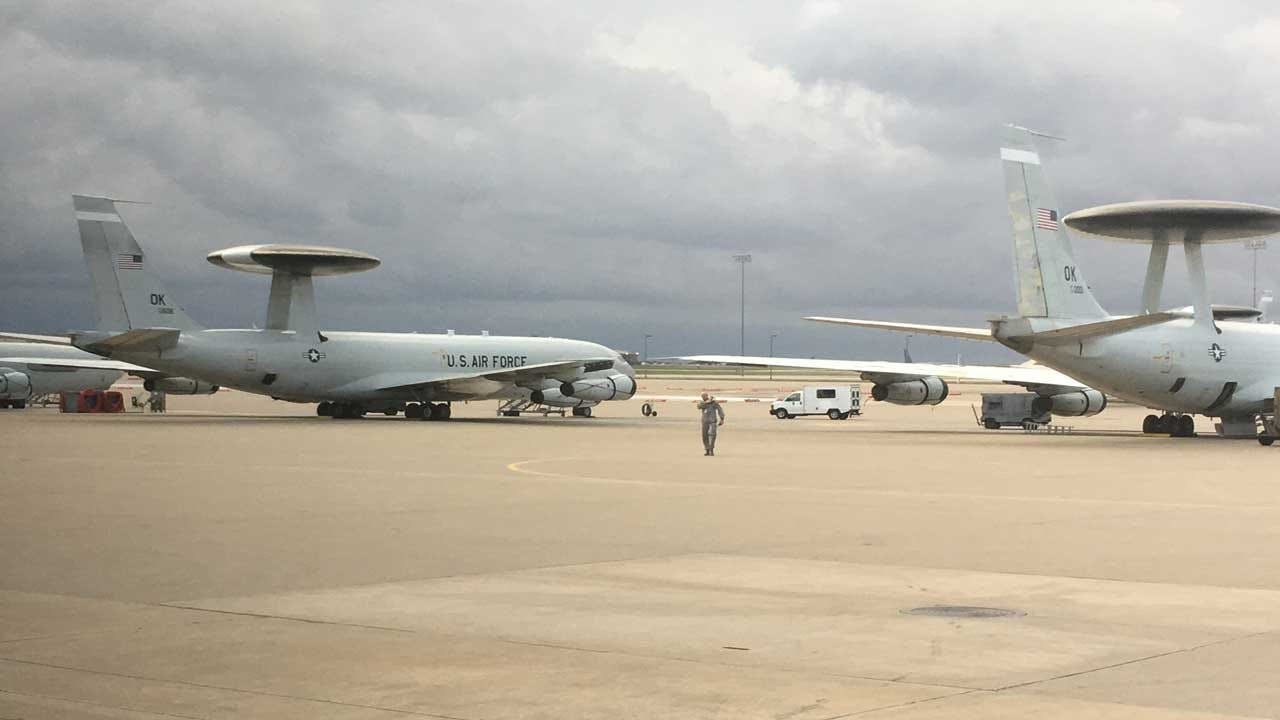 Tinker Celebrates 40 Years Of AWACS