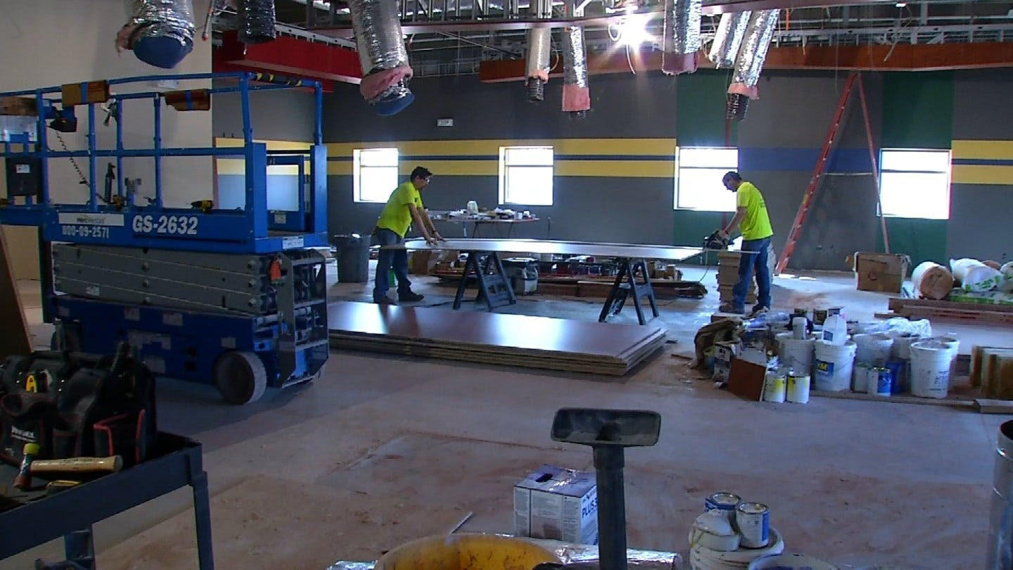 Shelter Construction Ongoing In Edmond