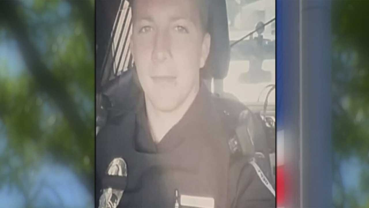 Community Honors Tecumseh Police Officer Killed In Line Of Duty