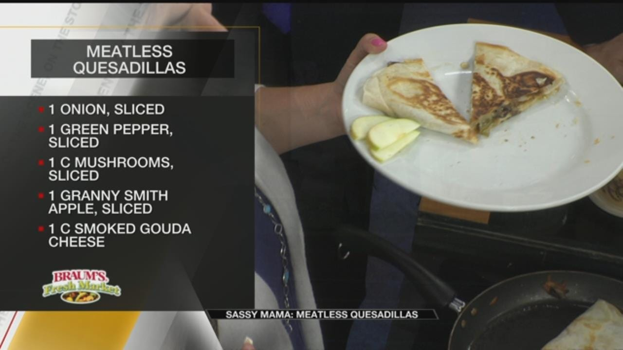 Meatless Quesadillas