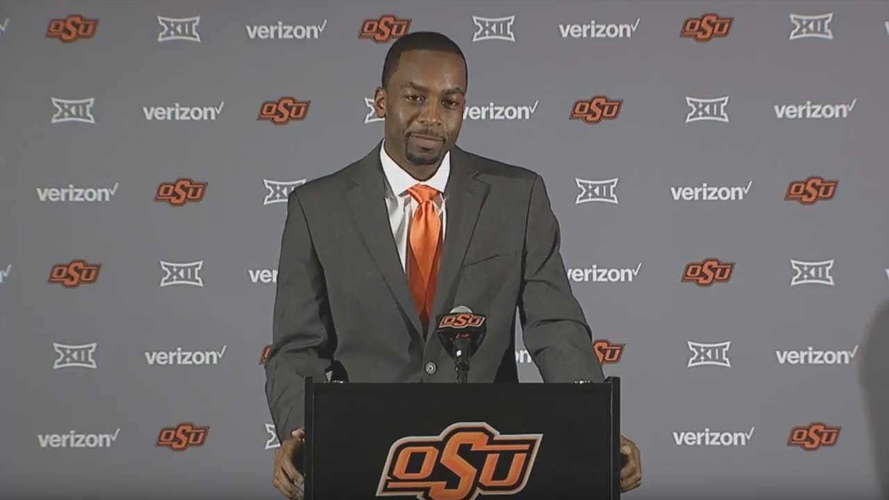 Mike Boynton Introduced As New Head Basketball Coach At Oklahoma State