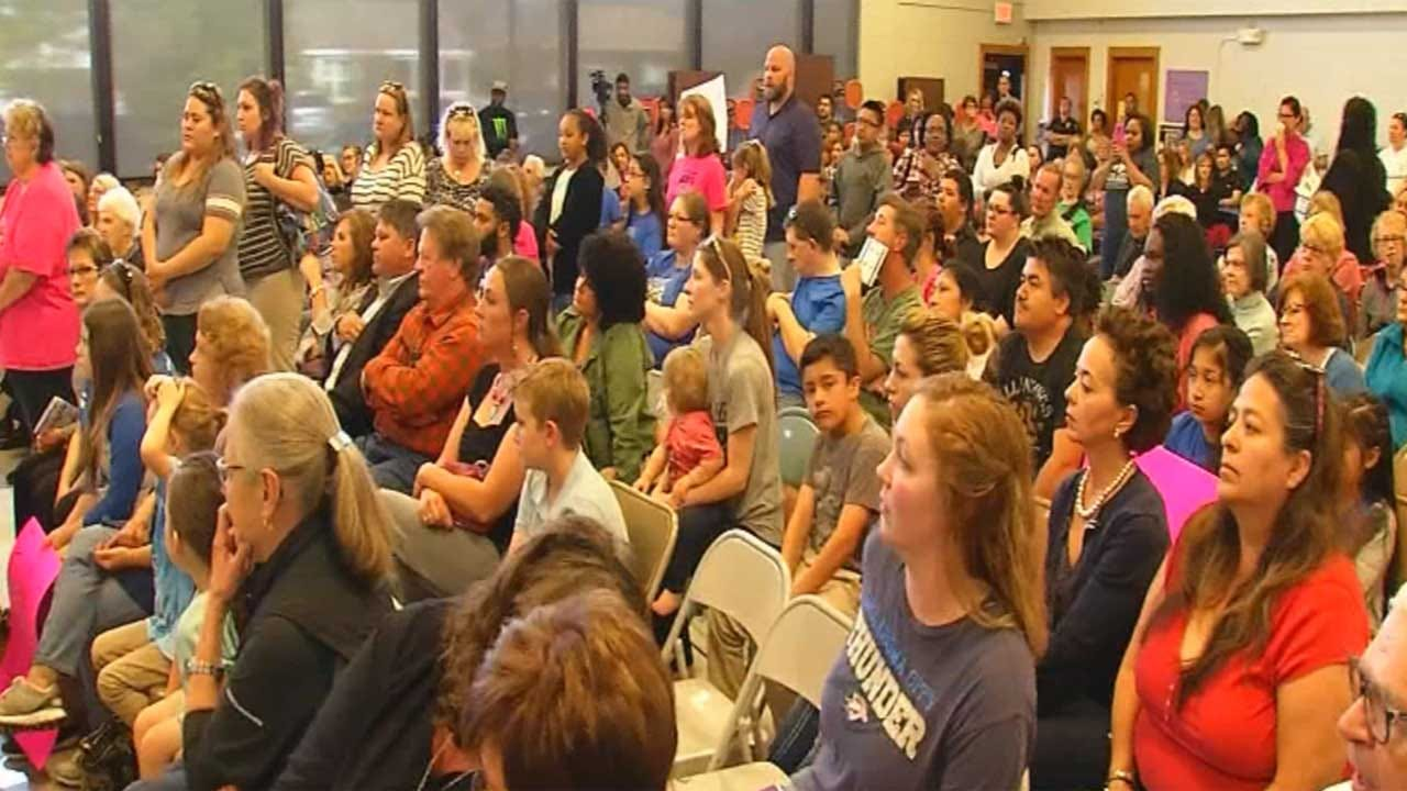 Parents, Students Make Plea To Keep OKC School Open