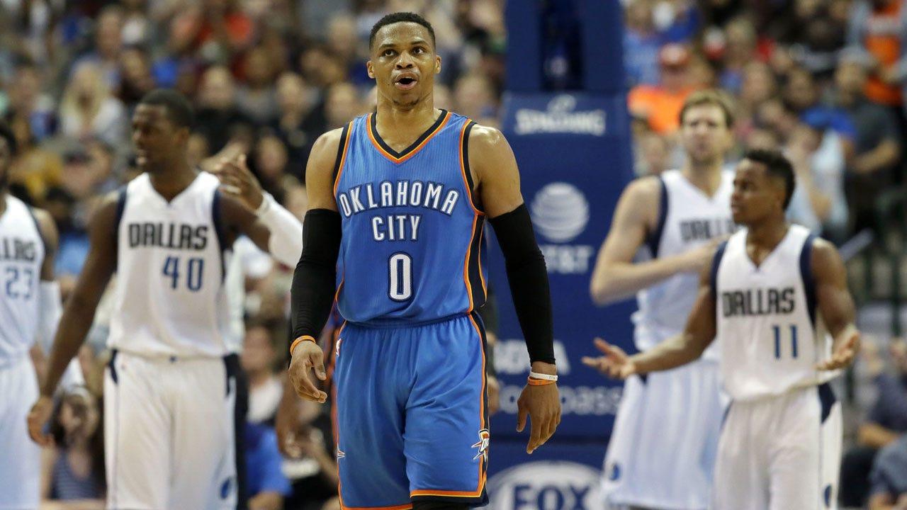 Westbrook's Game-Winner Lifts Thunder To Huge Comeback Win Over Mavericks
