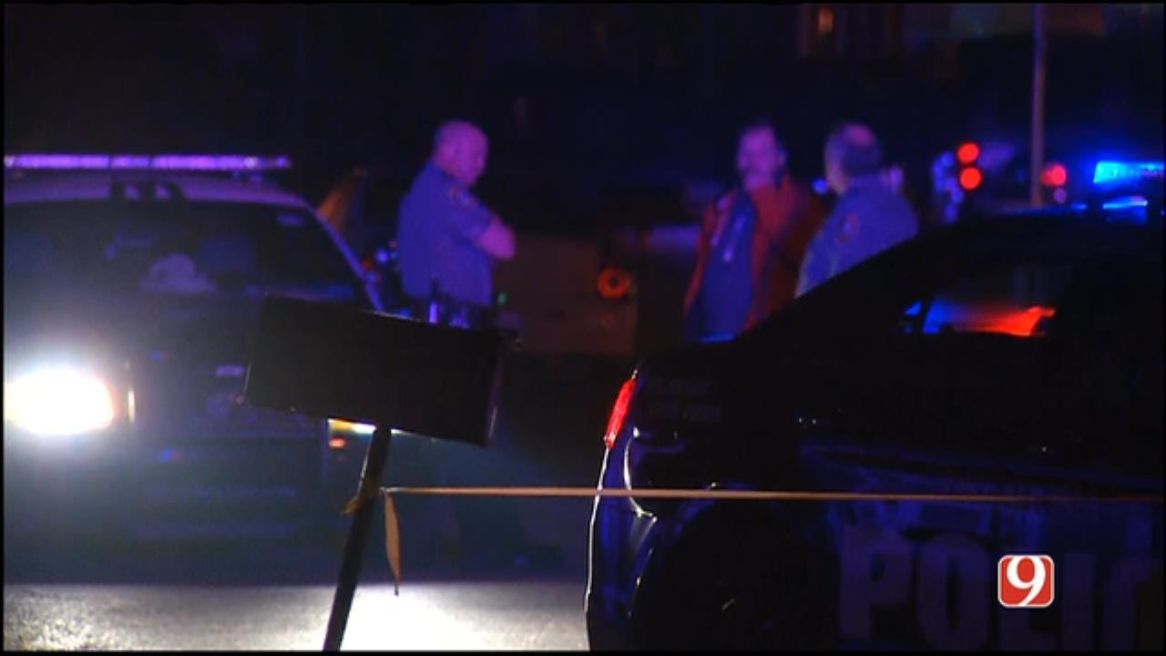 Two Shot In Suspected Drive-By In SW OKC
