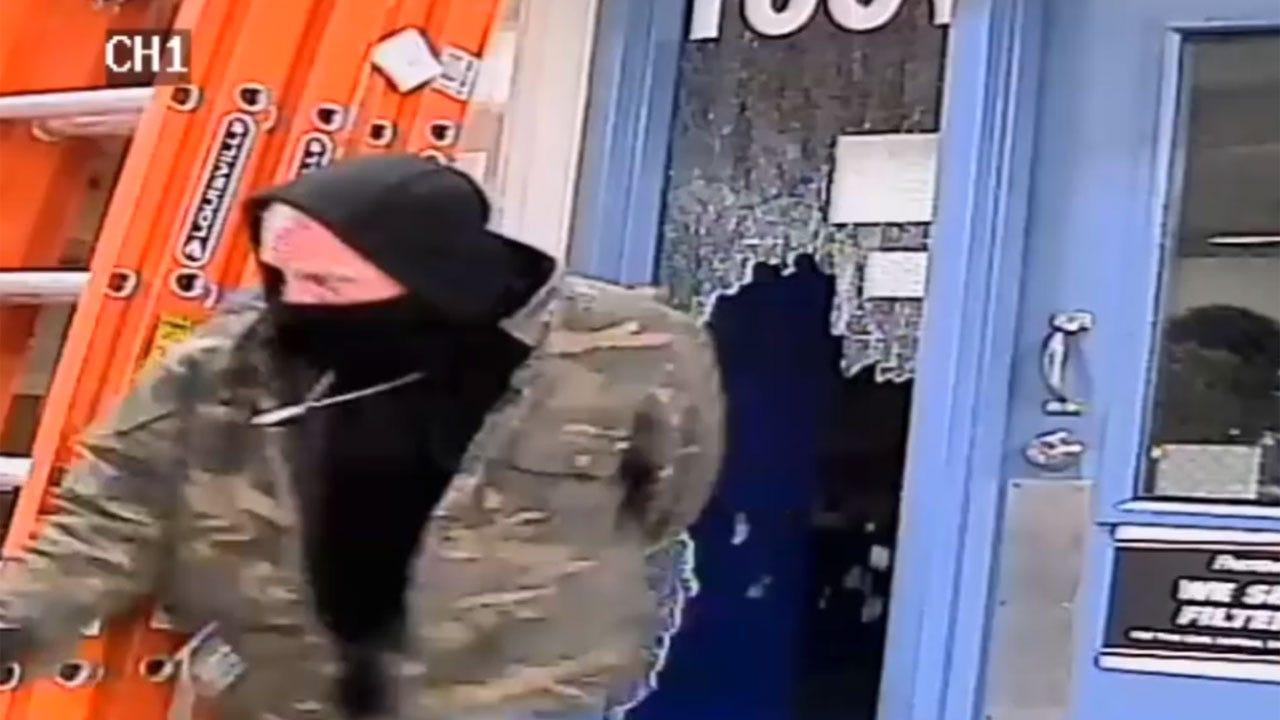 Burglar Broke Side Window At South OKC Business