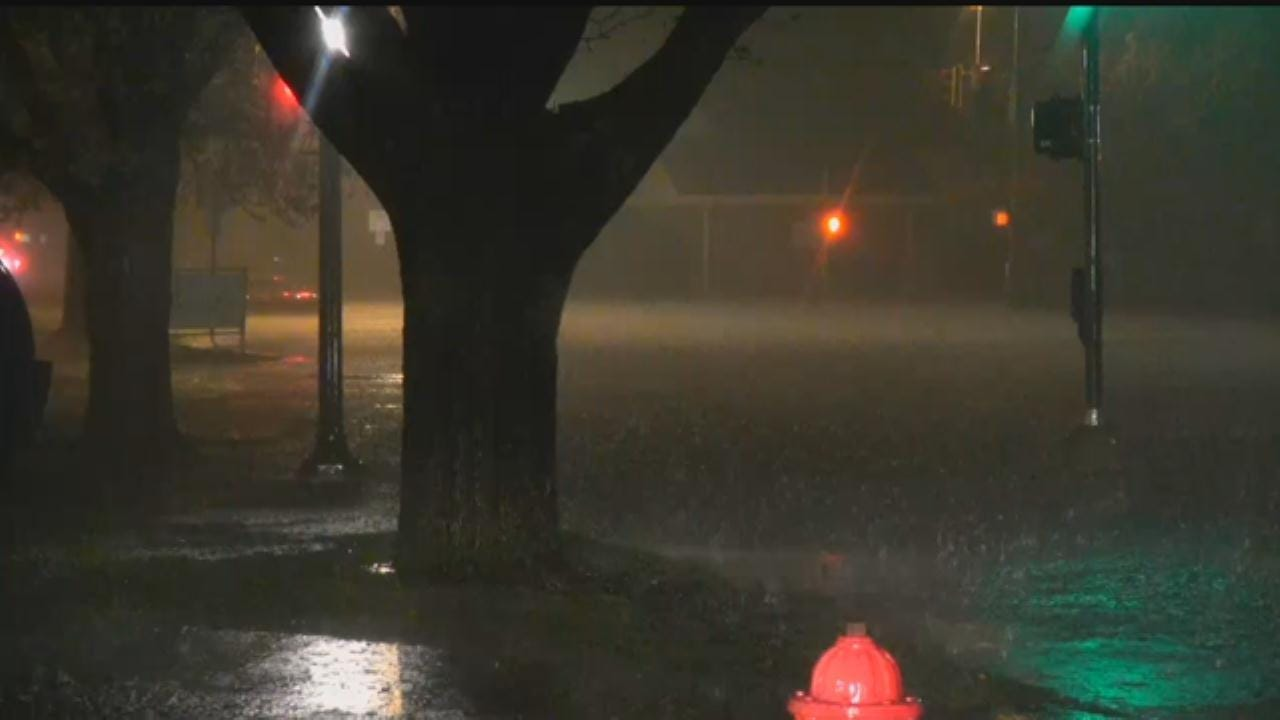 Localized Flooding Reported In Norman After Heavy Rains