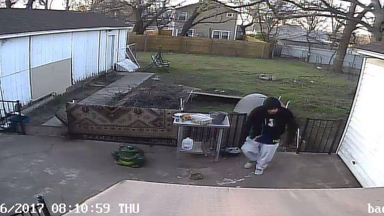 NW OKC Home Burglar Captured On Surveillance Video