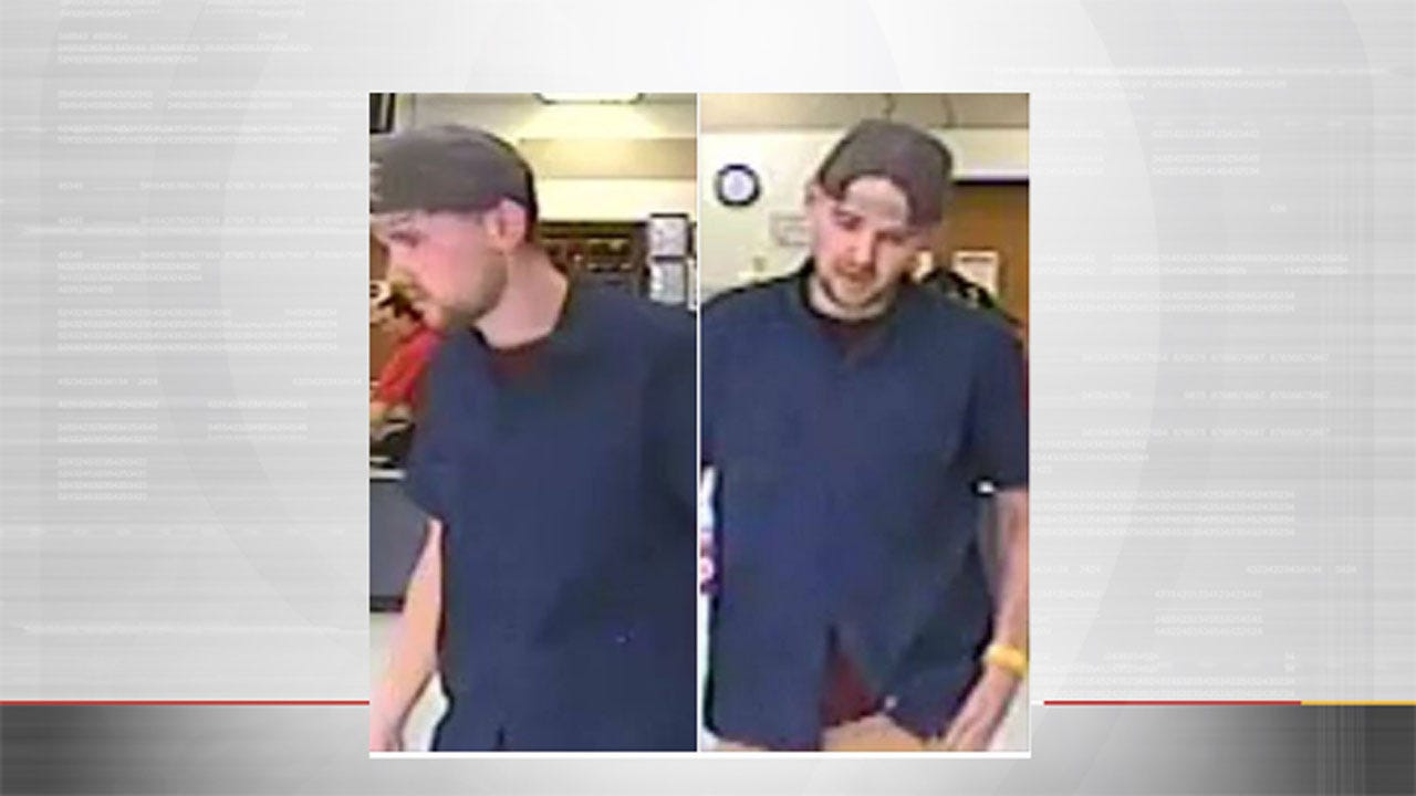 Suspect Sought In Theft From OKC Pawn Shop