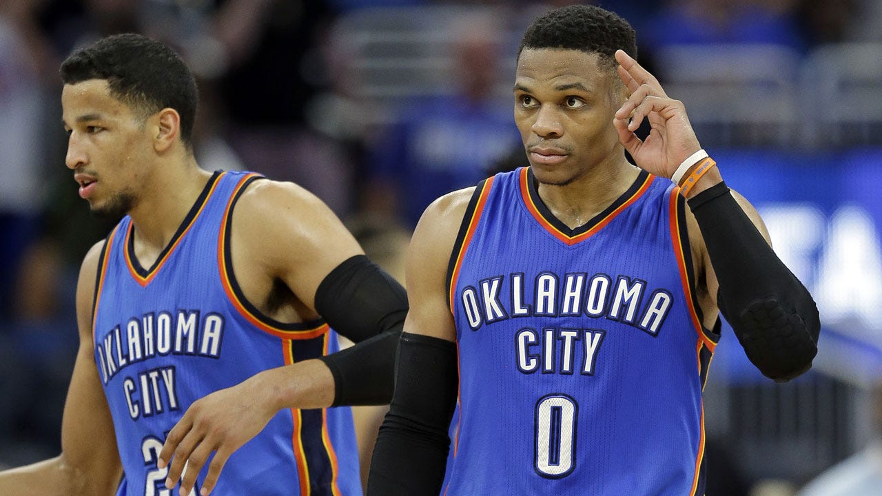 Westbrook's 57-Point Triple-Double Lifts OKC To Biggest Comeback In Thunder History
