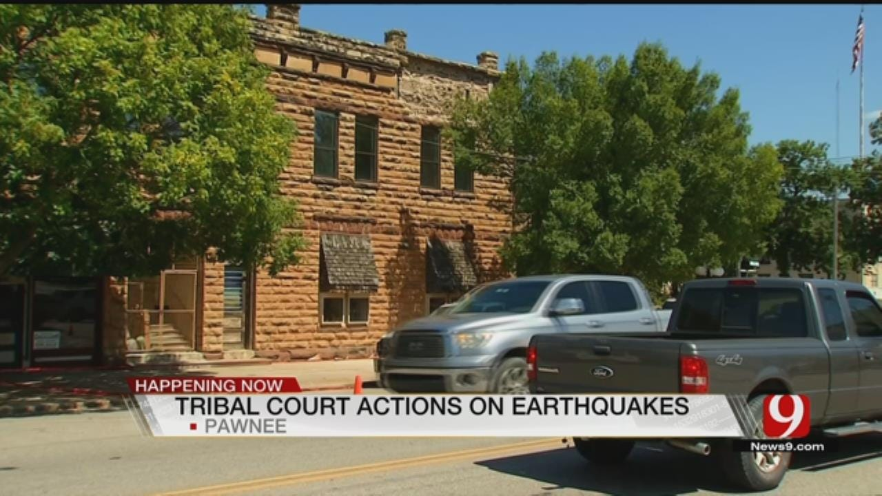 Pawnee Nation, Legal Team To Talk Human-Induced Earthquakes