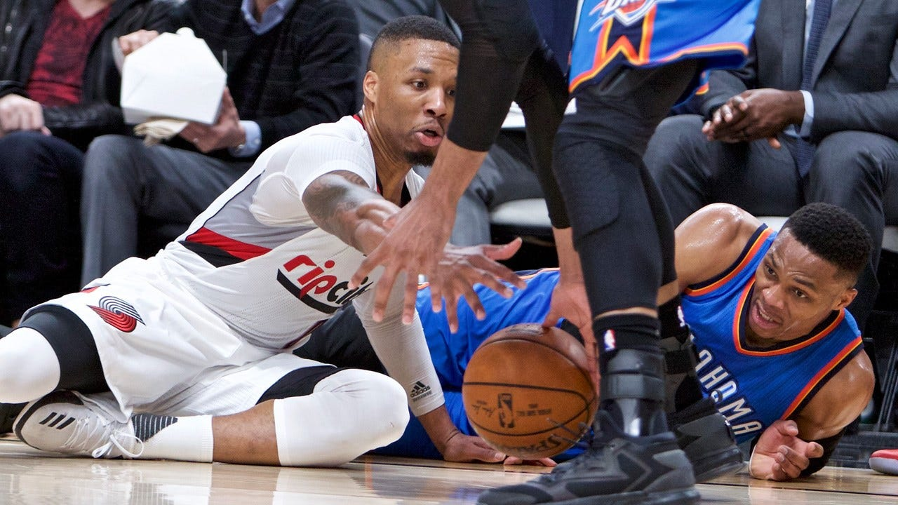 Westbrook Goes For 45 But Blazers Beat Thunder 114-109