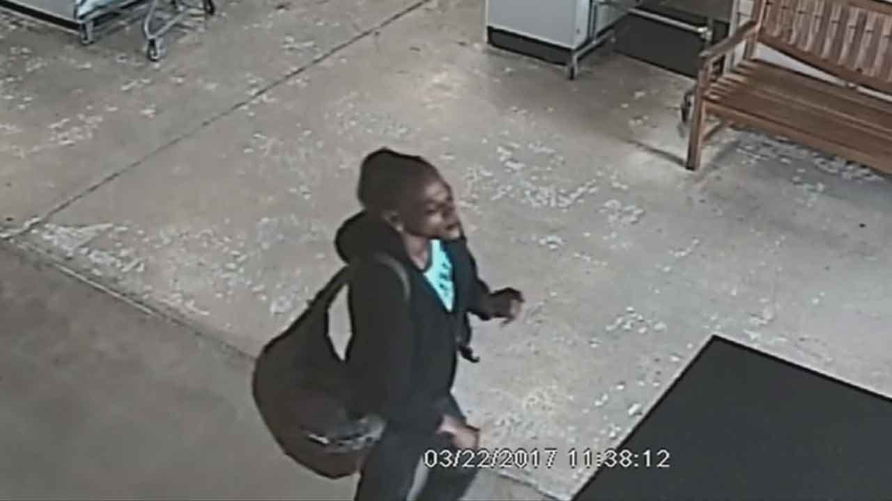 Caught On Camera: Woman Steals Designer Items In OKC