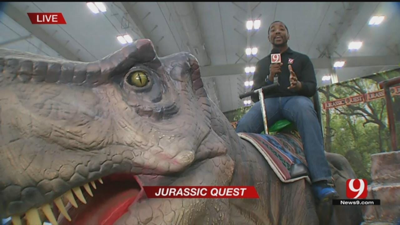 Jurassic Quest Visits OKC This Weekend